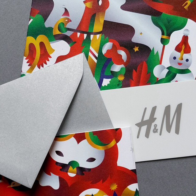 A glimpse of @janinerewell's beautiful work for H&M's global Christmas campaign. @hm