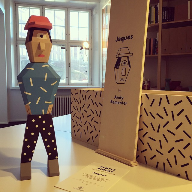 Welcome to our office, Jaques. Cheers to @andyrementer and @case_studyo ! #peopleblocks