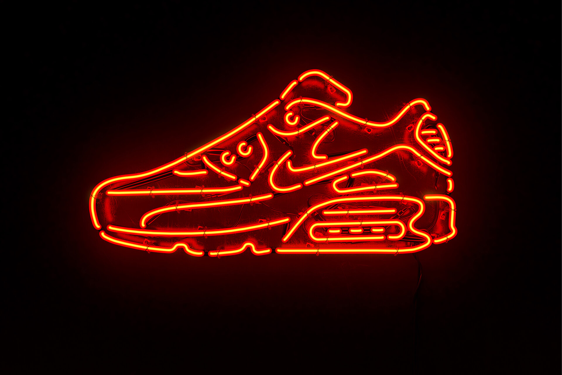 pretty nice 1a487 3393b Nike Air Max 90 Neon On