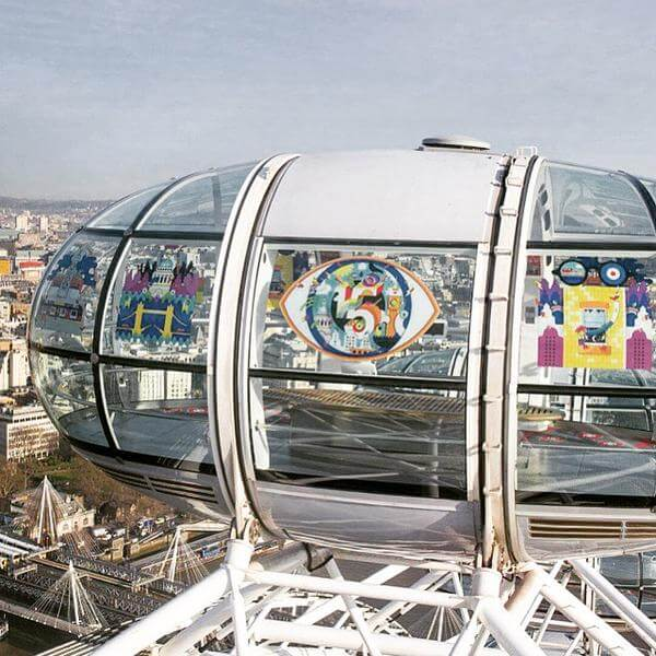 In celebration of @TheLondonEye's 15th…