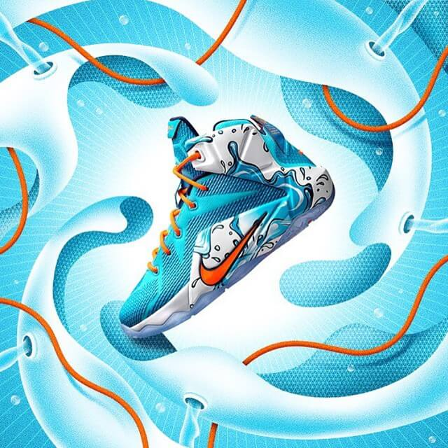 Launch imagery by @la_boca_ for the kids-only Lebron 'Buckets' coming on May 13th. #nikebasketball #lebron