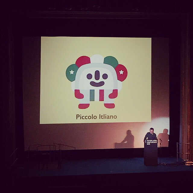 The brilliant @akinori_oishi presenting his work at @pictoplasma earlier today.
