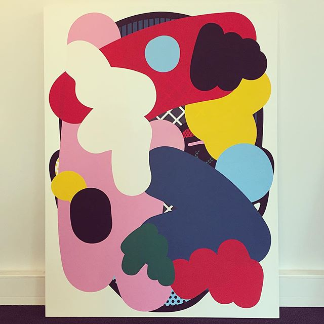 'Untitled' by Craig Redman has a new home at our Helsinki office. We couldn't be happier! @craigredman