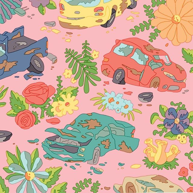 'Salvage Garden' by the one and only @timlahan