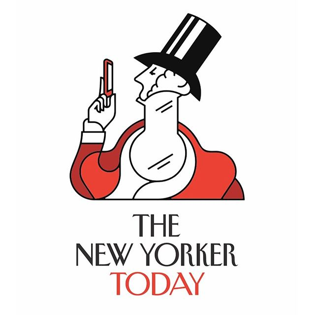 Opening screen illustration of iconic dandy Eustace Tilley by @timboelaars for @newyorkermag's new app.