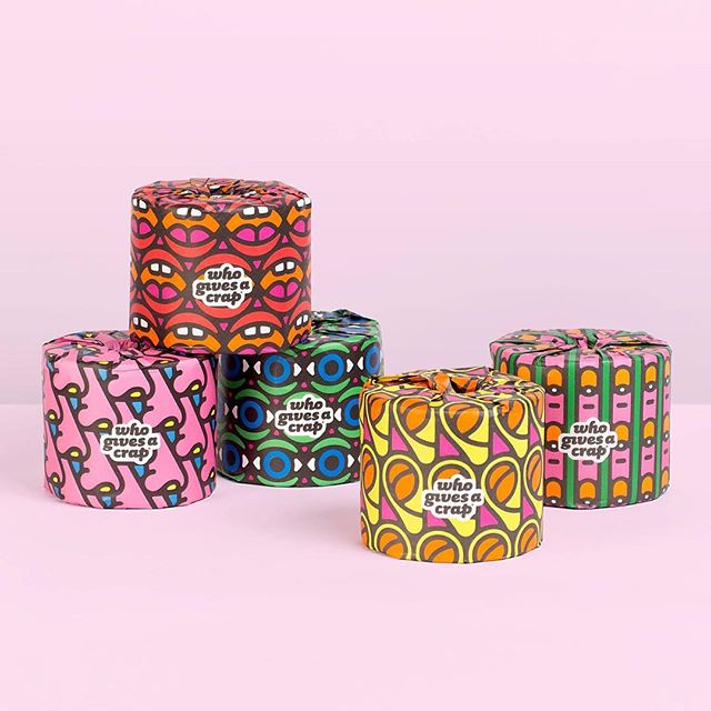 Holy crap (pun very much intended) these are lovely! @craigandkarl teamed up with @whogivesacraptp to design a set of 100% forest friendly toilet paper. 50% of the profits go to @wateraid to build toilets in developing countries. Now you can do some good when you 💩!