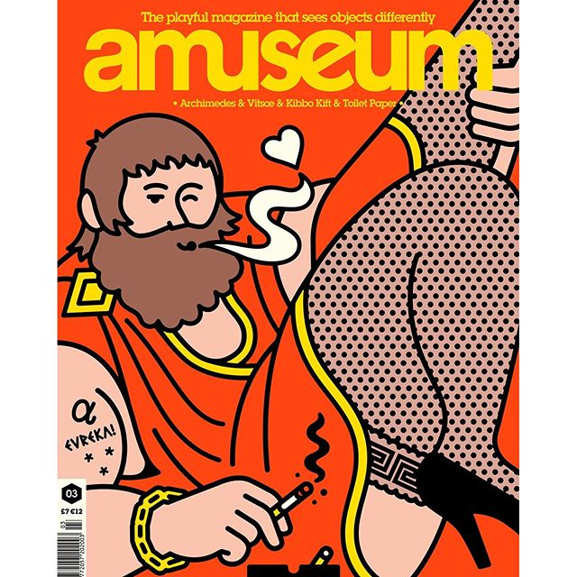 Rami Niemi for issue 3 of the wonderful Amuseum Magazine. #eureka #amuseummagazine #amuseum #raminiemi