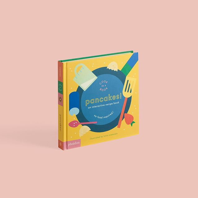 We love pancakes! And we love this new interactive recipe book about pancakes by @lottanieminen. Published by @phaidonsnaps and out on October 24th. Yum.