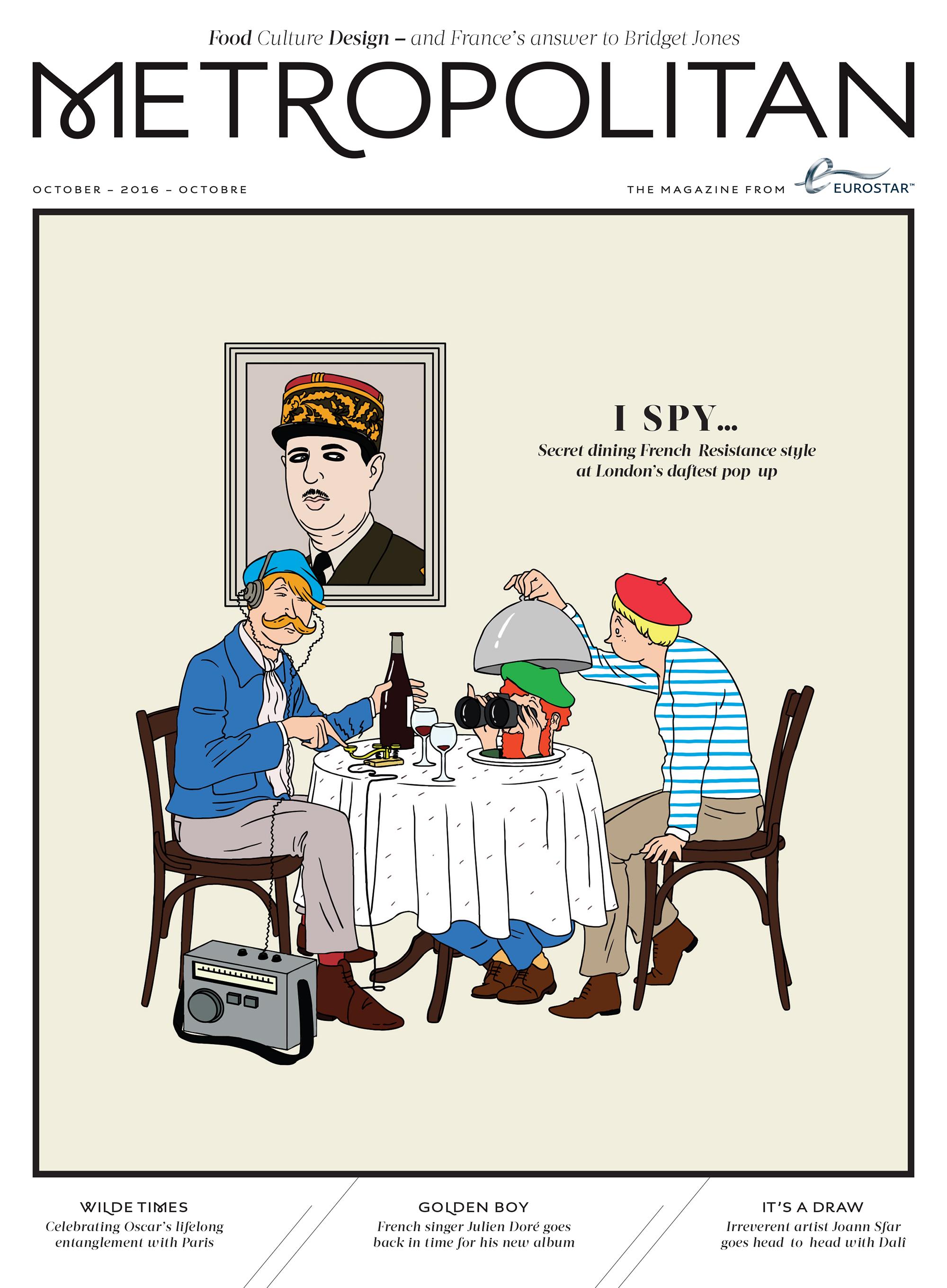 Metropolitan Magazine by Jean-Michel Tixier   Agent Pekka