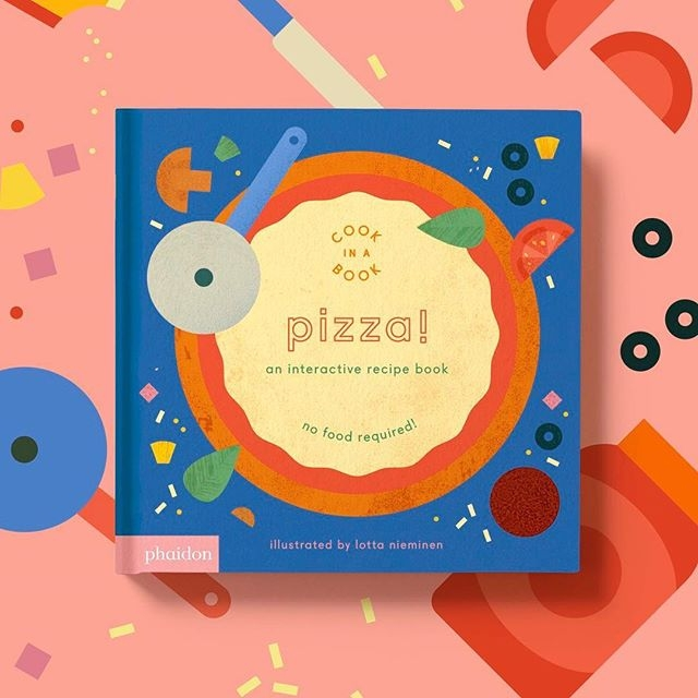 Introducing Pizza!, the second release in the charming Cook In A Book series by Lotta Nieminen. Available soon! @lottanieminen @phaidonsnaps