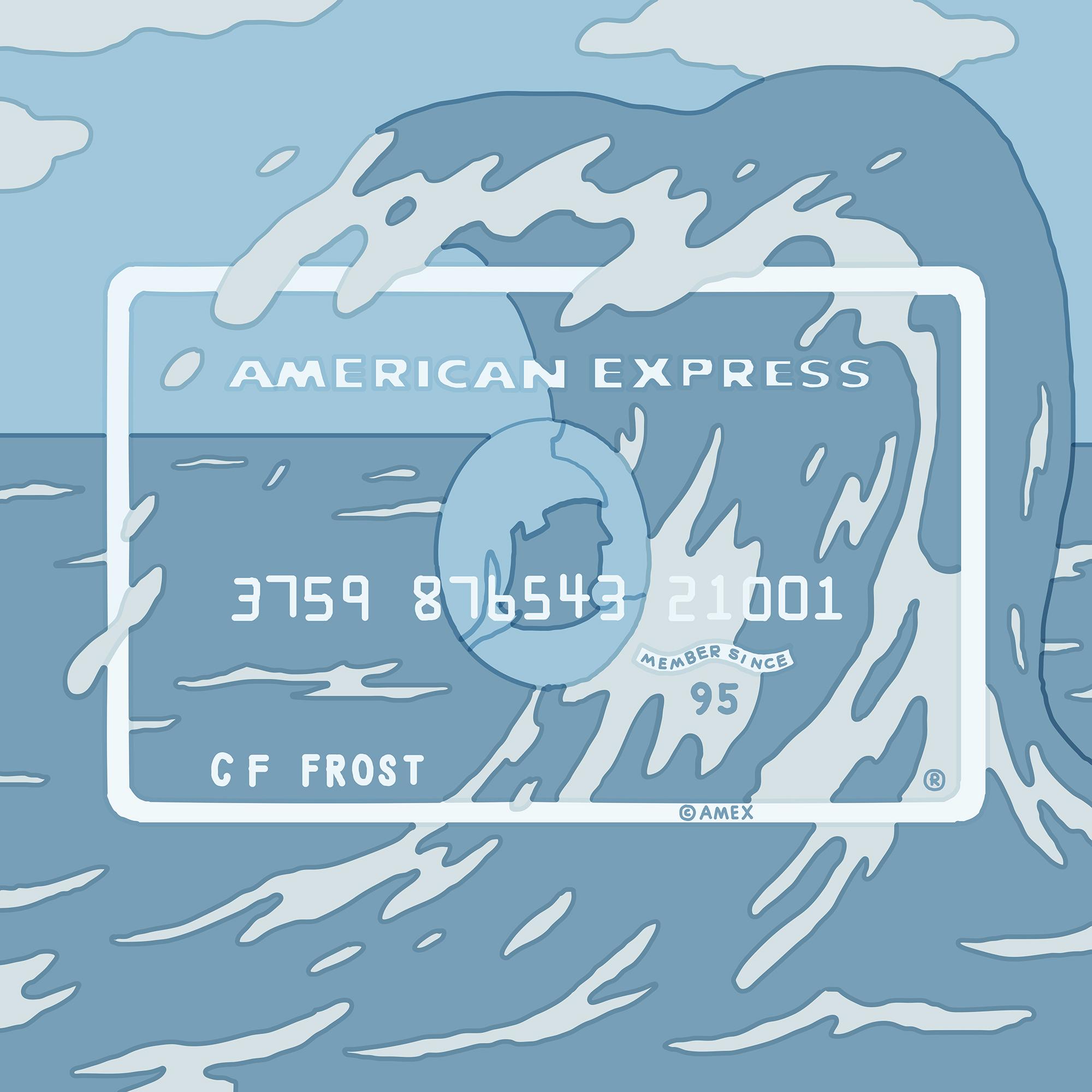 American Express Card Art by Tim Lahan | Agent Pekka