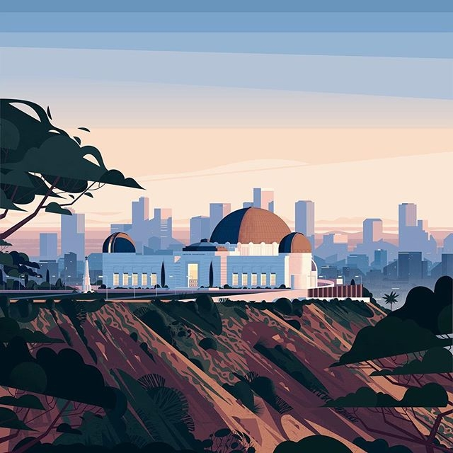 Hello Los Angeles! Our US office is now officially open and in full swing. You'll find us at @neuehouse on Sunset Boulevard in Hollywood. US-based clients, friends and partners, feel free to reach out and say hello! Many thanks to the wonderful @cruschiform for creating this LA-inspired illustration for us. 🌇🌴 #losangeles