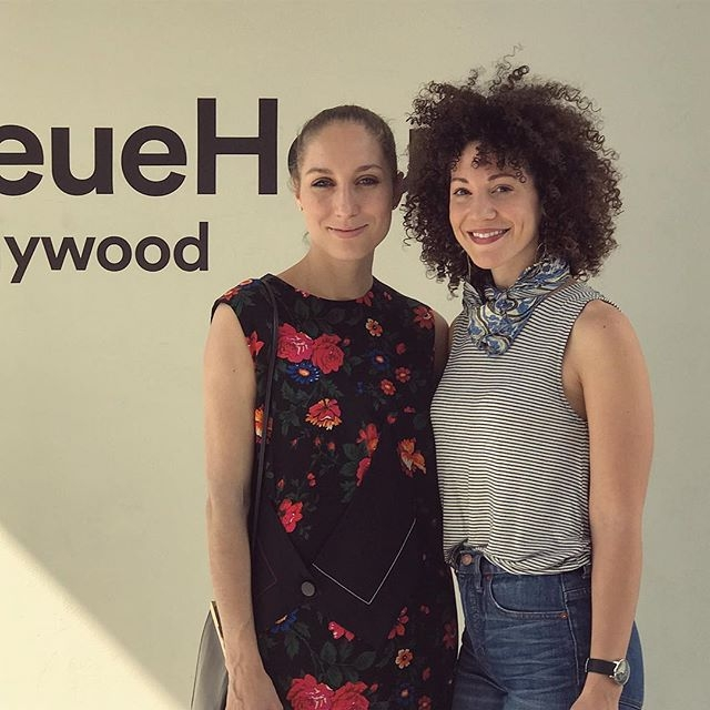 Say hello to Petra (from our Helsinki office) and Lauren (from our LA office)! Petra is in LA this week, and Lauren and she finally got to meet each other in person. We mostly communicate by email, iMessages and over long, rambling Skype sessions, so meeting in real life is a rare treat.