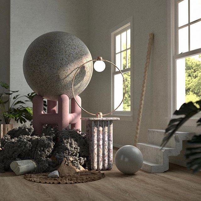 We love this new image by @szoraidez #interiordesign #artdirection #3D #3Dsetdesign #santizoraidez