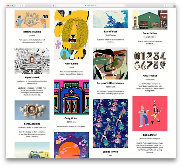 So many nice new projects up on our site. Take a look at agentpekka.com and see for yourself. #illustration #agentpekka