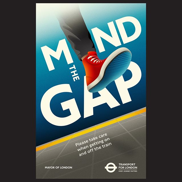 La Boca's new work confirms that they really are at the top of their game. This image is from a series of posters that @la_boca_ designed for @transportforlondon. Commissioned by VCCP, the eight posters communicate various safety messages to travellers on the London transport network. #agentpekka #laboca #vccp #tfl #transportforlondon #transport #london #poster