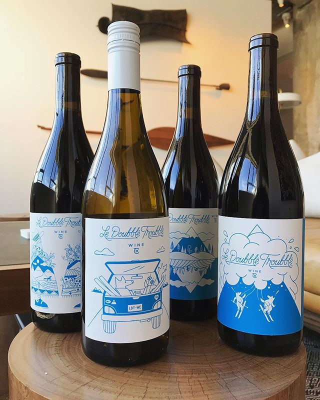 A beautiful selection of wines from @ldtwines with labels designed by @chrisdelorenzo 🍷 #christopherdelorenzo #agentpekka #ldtwines #wine
