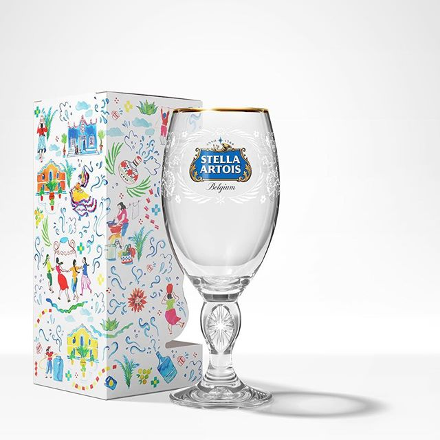 We're thrilled to share this project. Stella Artois (@stellaartois) and Water.org (@water) asked Finnish watercolour artist Eili-Kaija Kuusniemi (@eilikaija) to design a set of three limited-edition chalices for their 2019 collaboration. Eili-Kaija's designs celebrate the vibrant impact water has on families and communities. The purchase of a chalice helps provide 5 years of clean water to someone in the developing world. Purchase yours today and help end the global water crisis. 👉 water.org/stellaartois/ #PourItForward #waterorg #eilikaijakuusniemi #agentpekka