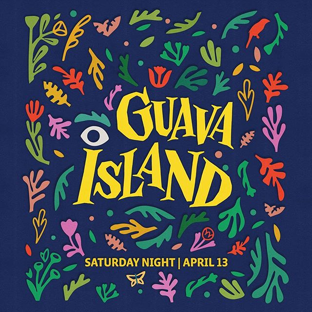 Agent Pekka's @tyrsamisu and @chrisdelorenzo collaborated on the visuals for @childishgambino's new movie, Guava Island. Directed by @muraihiro and co-starring @badgalriri, the movie is now out on @amazonprimevideo. #tyrsa #christopherdelorenzo #agentpekka #guavaisland #childishgambino #rihanna #illustration #lettering