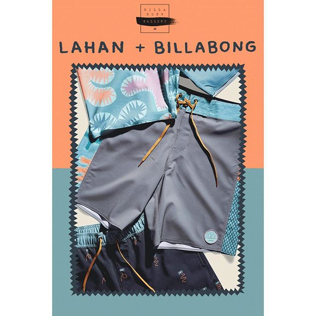 Billabong + Tim Lahan is now live! Billabong's Gallery Collection is an on-going collaboration with hand-picked artists from around the globe. Go check out the collection at Billabong.com!