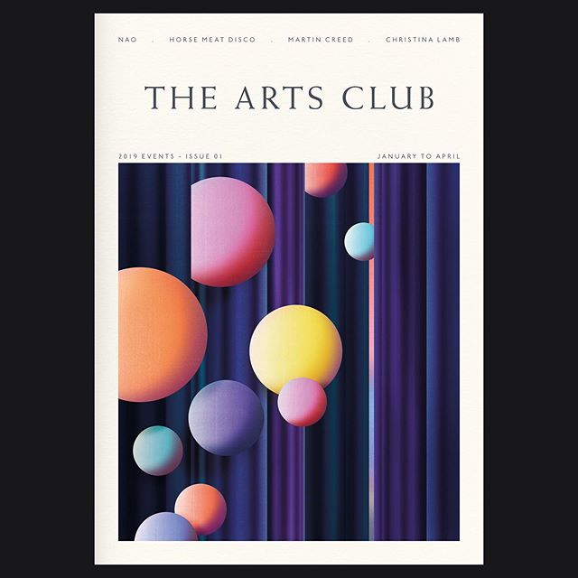 Cover artwork by @merijnhos for issue 01 of @the_arts_club's quarterly publication. Thanks @_everythinginbetween for the nice collaboration. #merijnhos #agentpekka #illustration