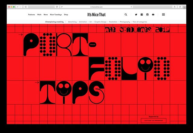 Our founder and director, Pablo Steffa, chatted with @itsnicethat on how to build a strong portfolio for their annual The Graduates showcase. The piece also features some real gems of advice from @nytmag's Jessica Dimson, @colophonfoundry's Anthony Sheret and @strangebeasttv's Kitty Turley. Link in bio. #itsnicethat #agentpekka #portfoliotips
